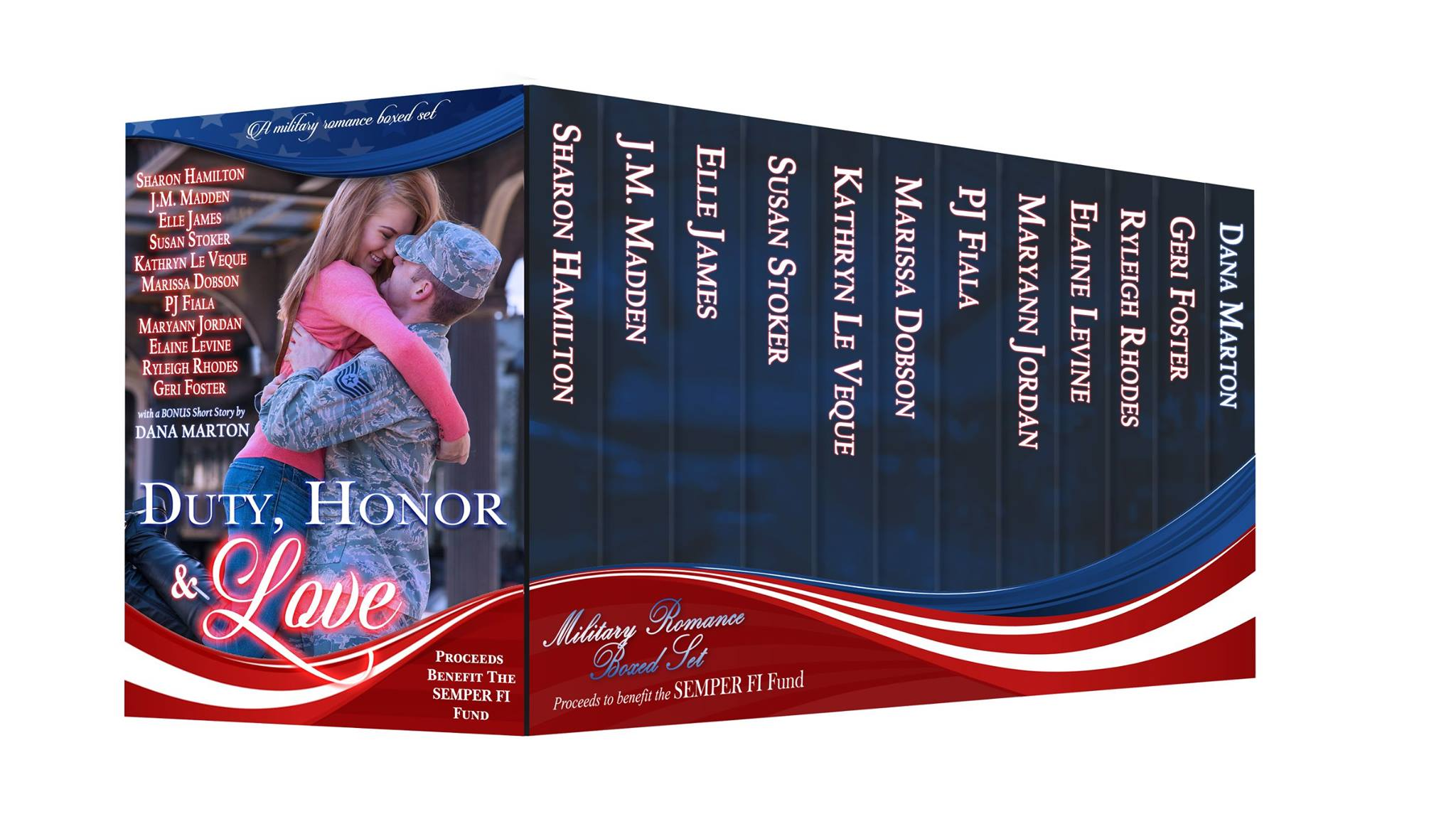 Duty honor love charity box set benefiting the for Semper fi fund rating